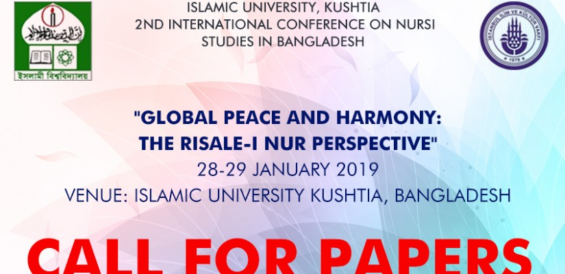 Call For Papers to Nursi Conference in Bangladesh (28-29 January 2019)