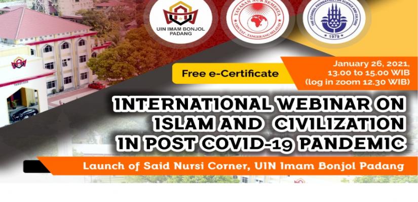 INTERNATIONAL WEBINAR ON ISLAM AND CIVILIZATION
