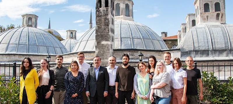 باحثون أوكرانيون في مؤسستنا