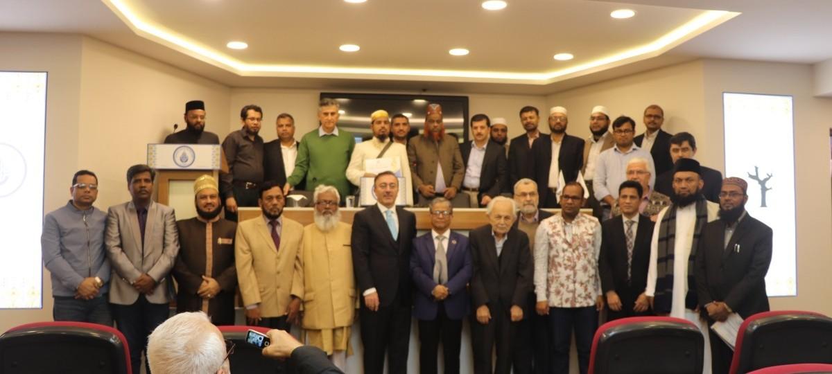 إجتماع علماء من بنغلاديش وأندونيسيا في ندوةالإنسان والمجتمع والدين من منظور رسائل النور