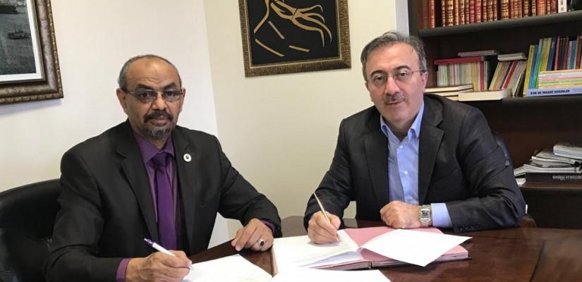 تمَّ توقيعُ إتفاقية تعاونٍ بين مؤسسةِ إسطنبول للثقافةِ والعلوم و جامعةِ الخرطوم