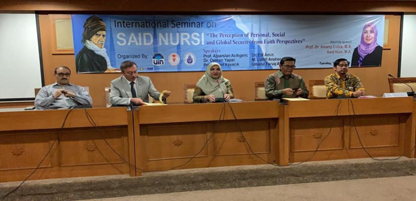 Said Nursis Formula For Security Policy Discussed At Indonesian University