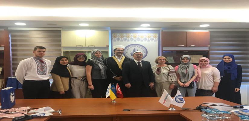 Ukranian Professors And Students Participate In Islamic History And Turkish Religious Education Programme