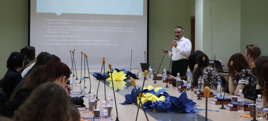 Ukrayna'da Said Nursî sınıfı eğitime başladı