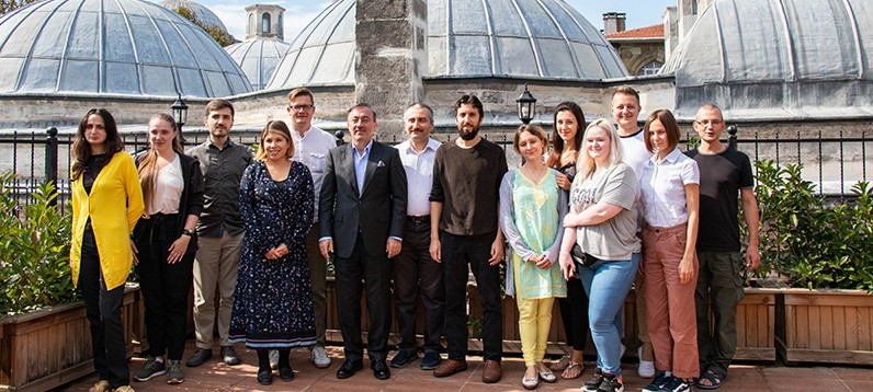 Visit to Our Foundation by Ukraine Religious Research Group